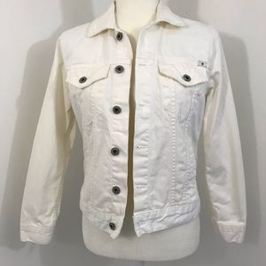 WOMEN'S LUCKY BRAND JEANS TOMBOY TRUCKER JACKET